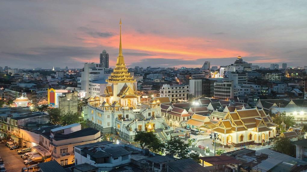 Достопримечательности Бангкока - Храм Золотого Будды (Ват Траймит)