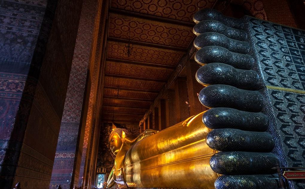 Достопримечательности Бангкока - Храм лежачего Будды Ват Пхо