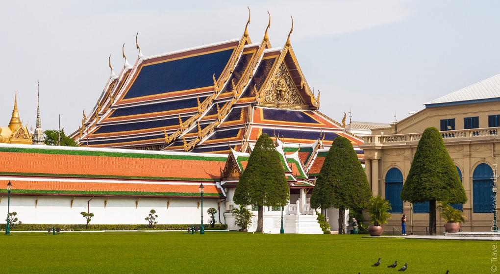 Достопримечательности Бангкока - Королевский дворец