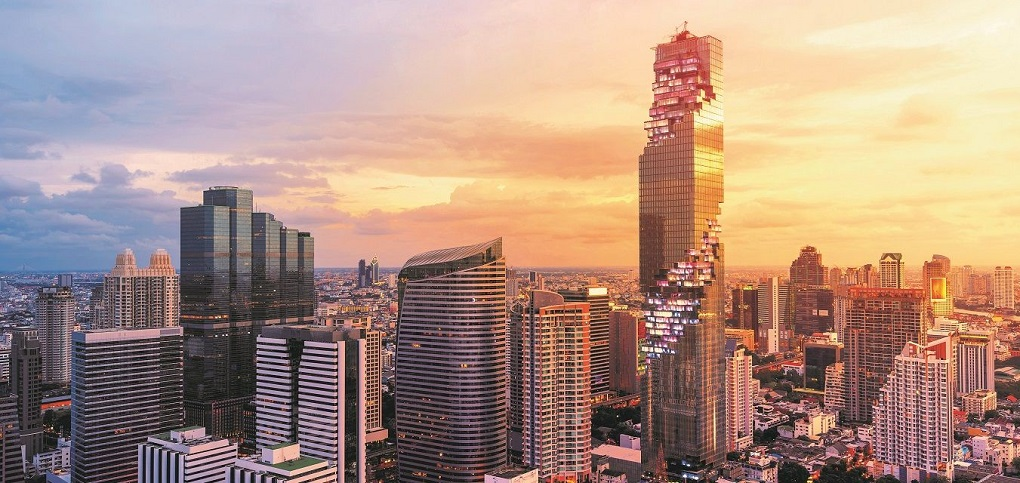 Достопримечательности Бангкока - Небоскреб Маханакхон 2