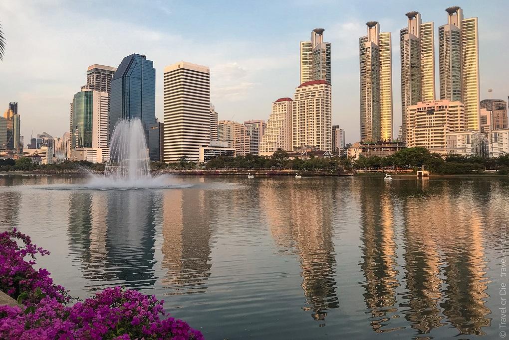 Достопримечательности Бангкока - Парк Бенджакитти