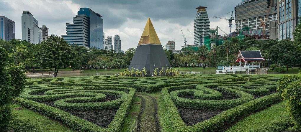 Достопримечательности Бангкока - Парк Бенджасири