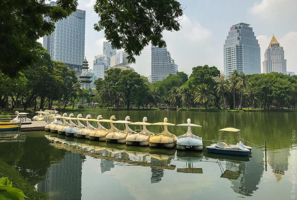 Достопримечательности Бангкока - Парк Люмпини
