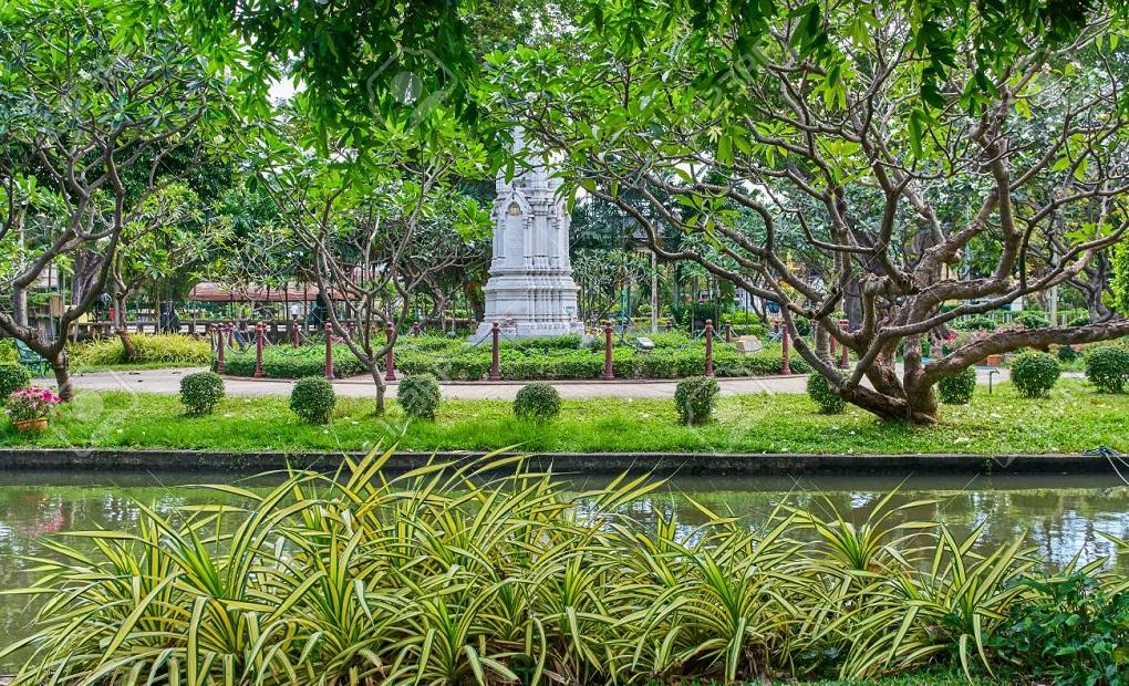 Достопримечательности Бангкока - Парк Саранром