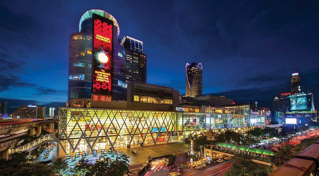 Достопримечательности Бангкока - Торговый центр Централ Ворлд Плаза