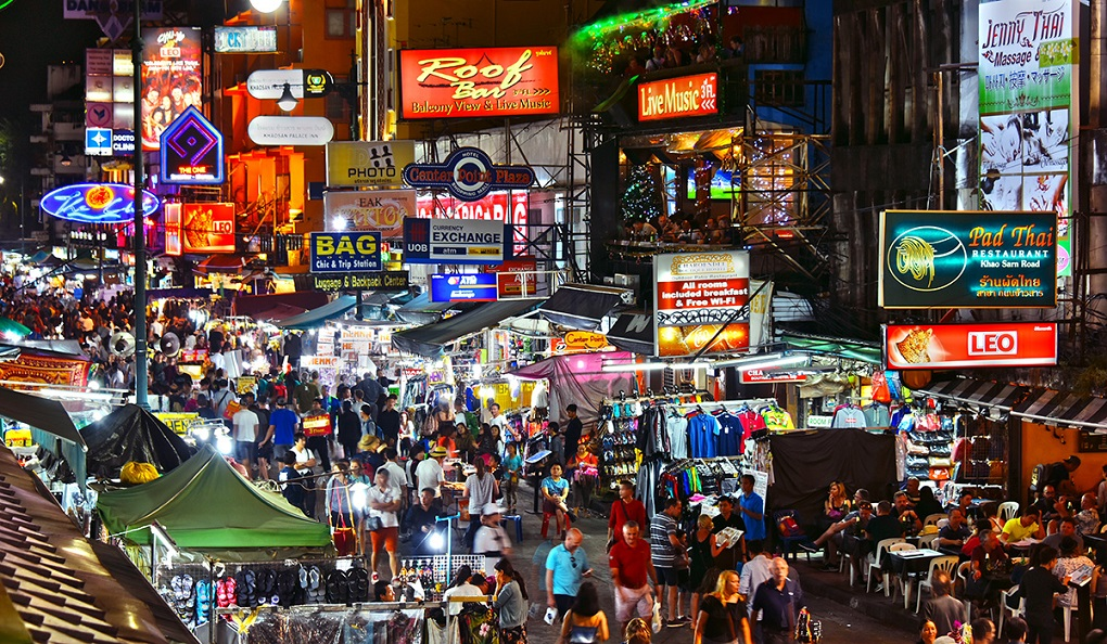 Достопримечательности Бангкока - Улица Као Сан Роад