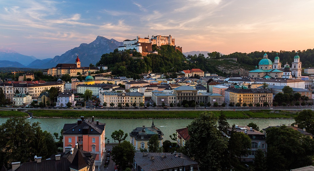 Обзорная экскурсия по Зальцбургу на русском языке