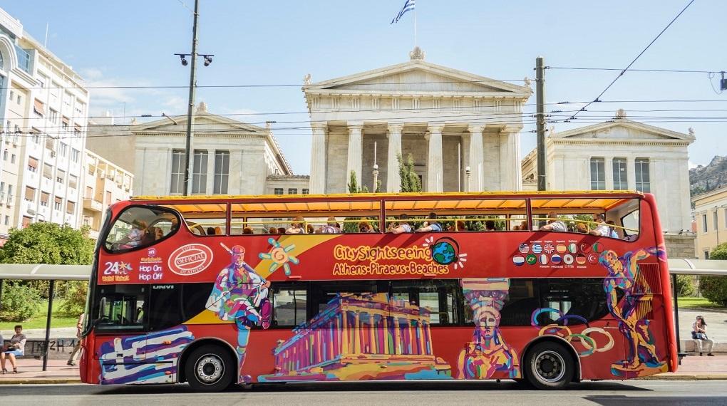 Автобусная экскурсия по Афинам