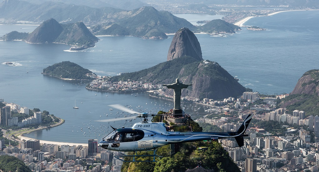 Экскурсии на вертолете в Рио де Жанейро