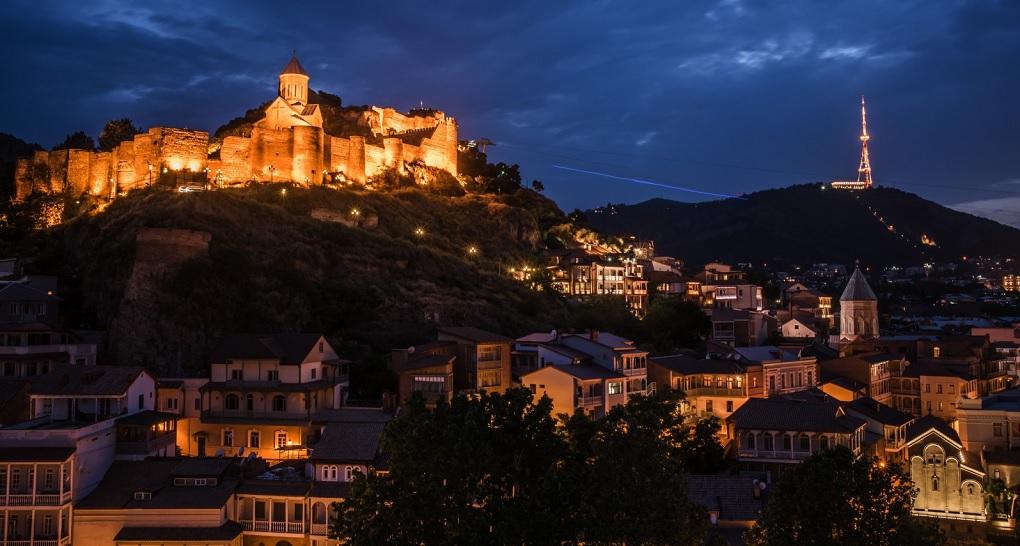 Экскурсия вечерний или ночной Тбилиси