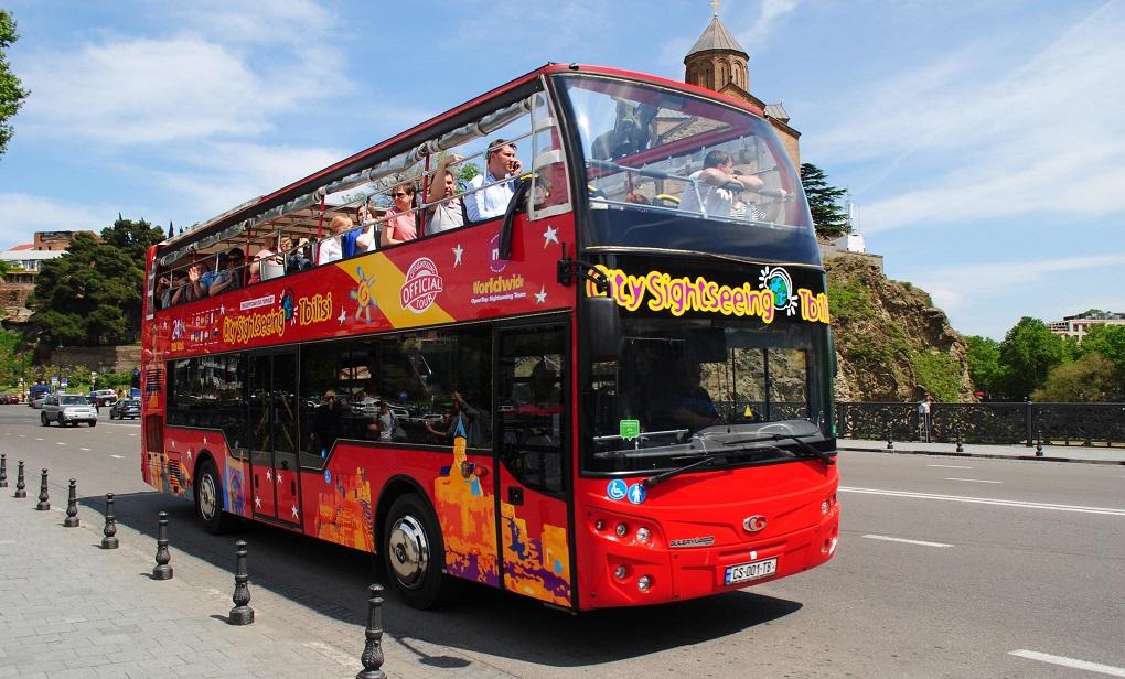 Обзорная экскурсия по Тбилиси на автобусе