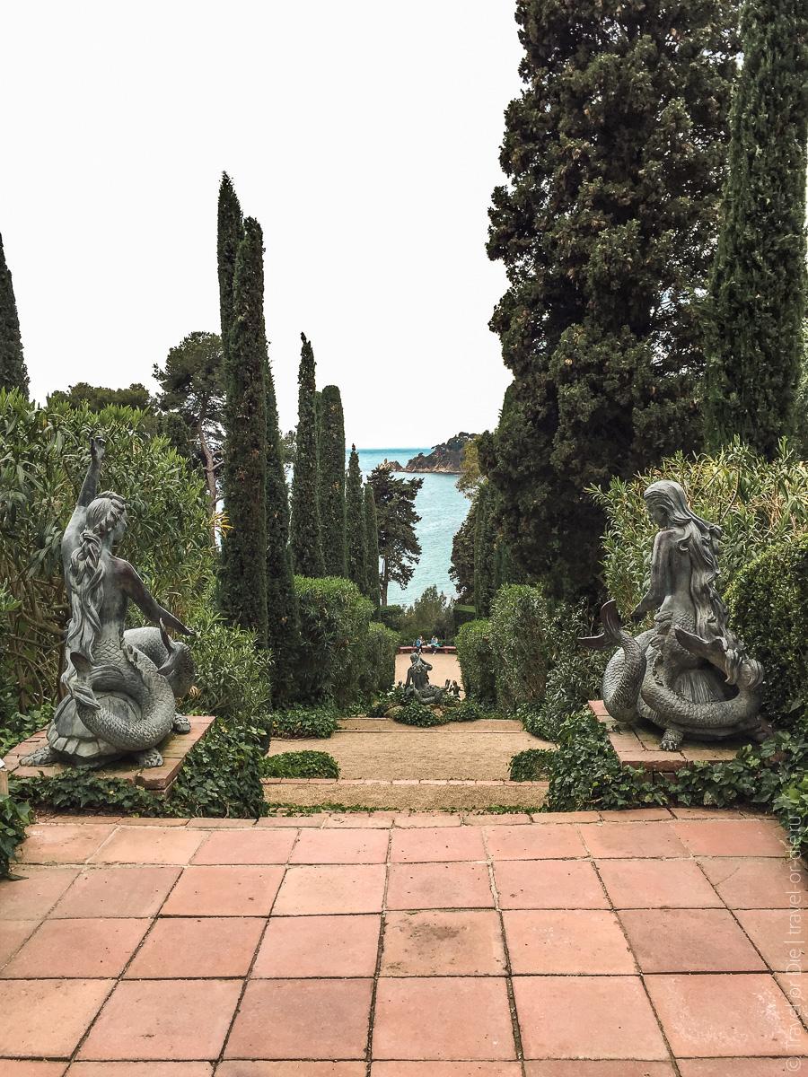 Сады Святой Клотильды в Ллорет де Мар 09-2