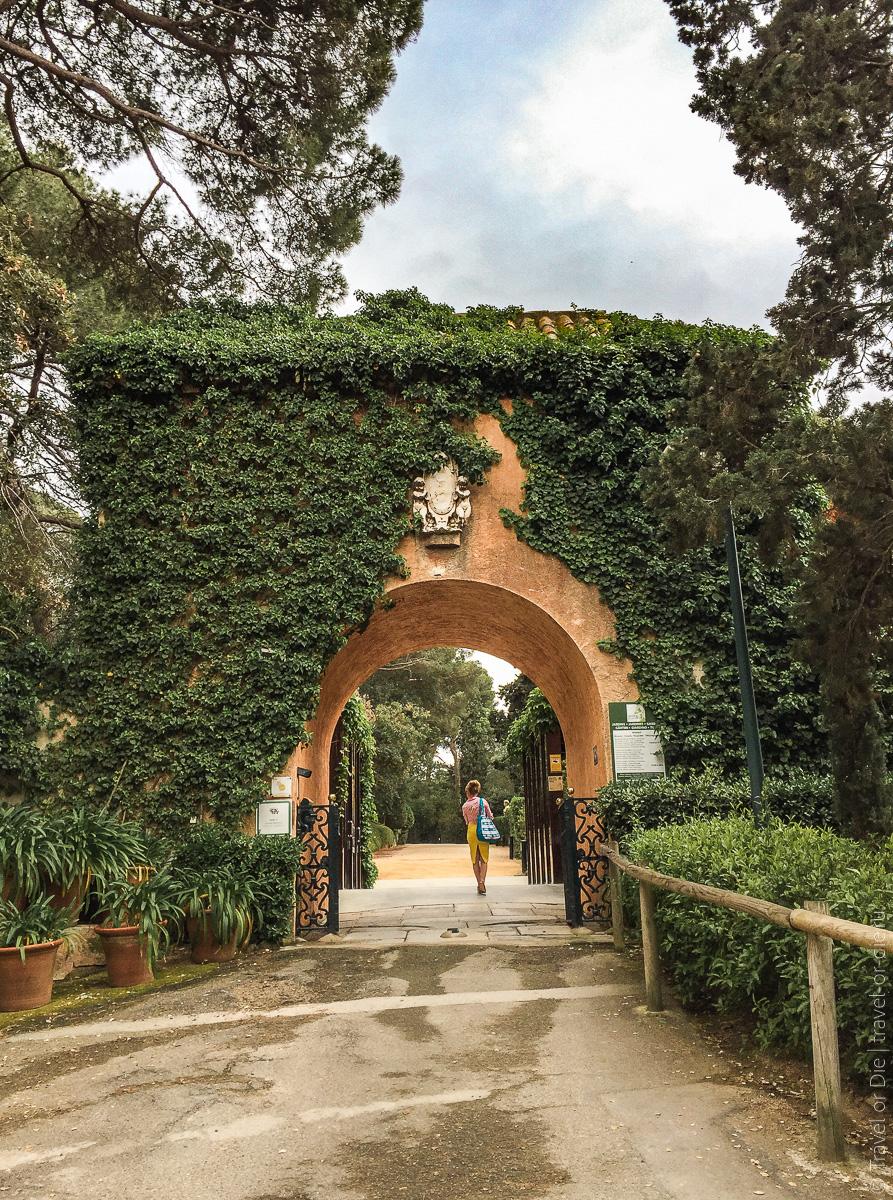 Сады Святой Клотильды в Ллорет де Мар 04