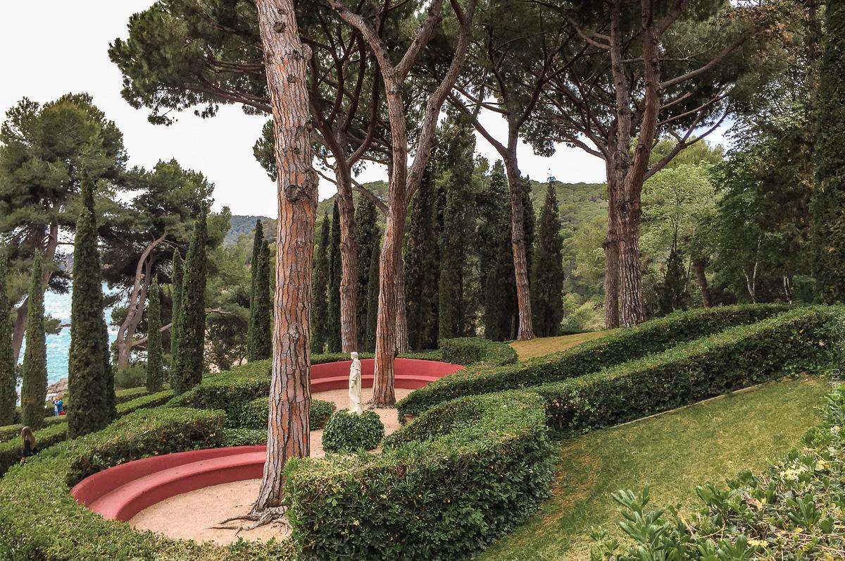 Сады Святой Клотильды в Ллорет де Мар 09