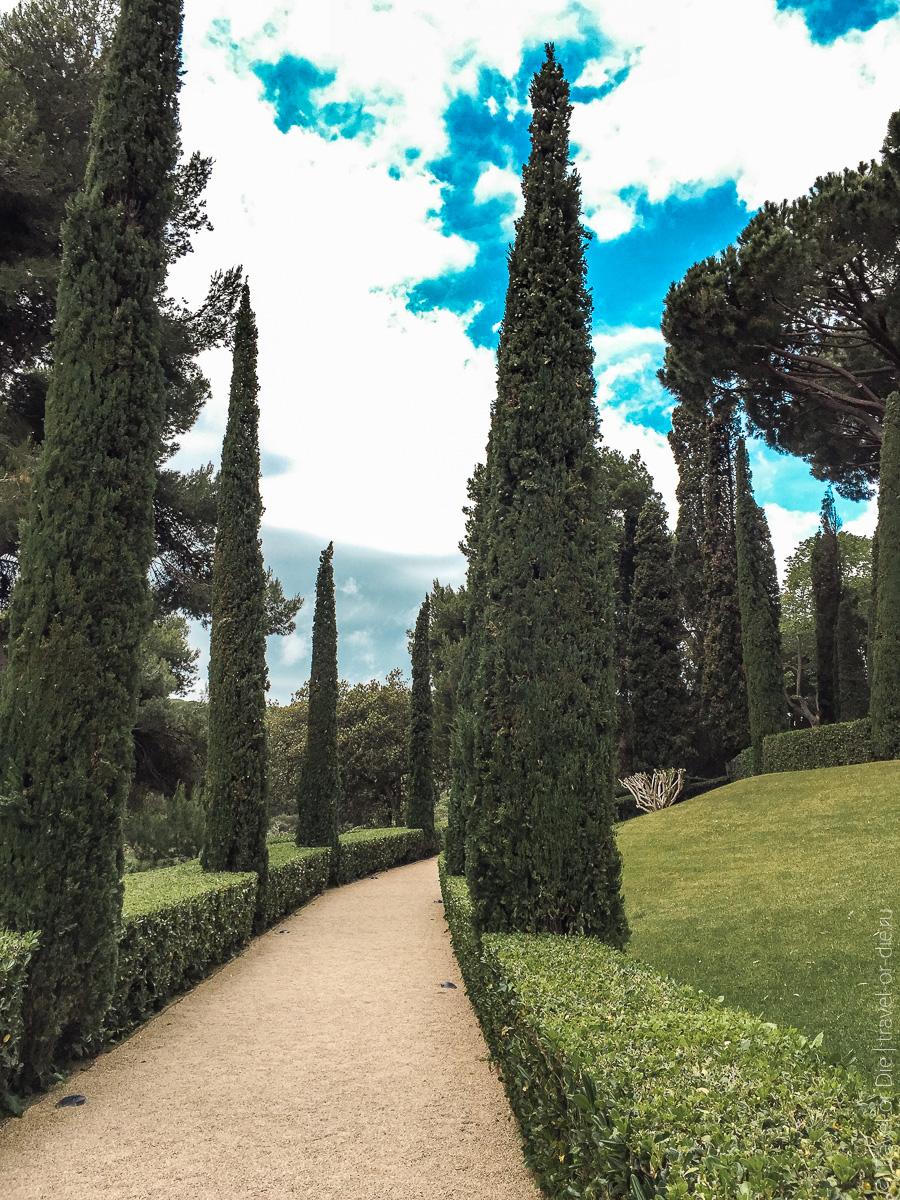 Сады Святой Клотильды в Ллорет де Мар 10