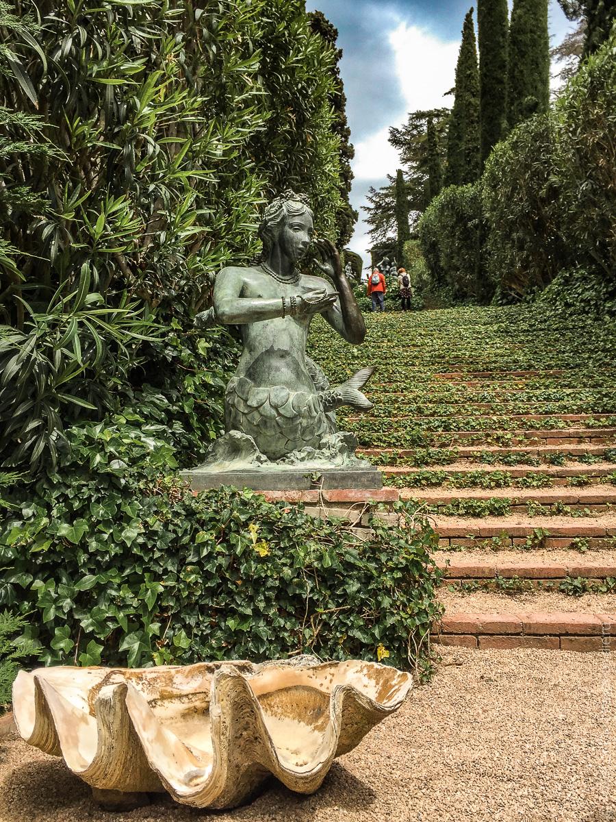 Сады Святой Клотильды в Ллорет де Мар 16