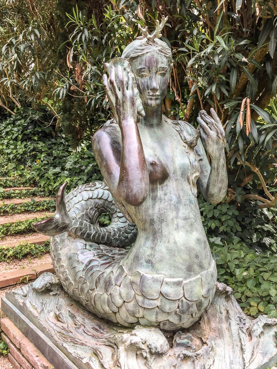 Сады Святой Клотильды в Ллорет де Мар 17