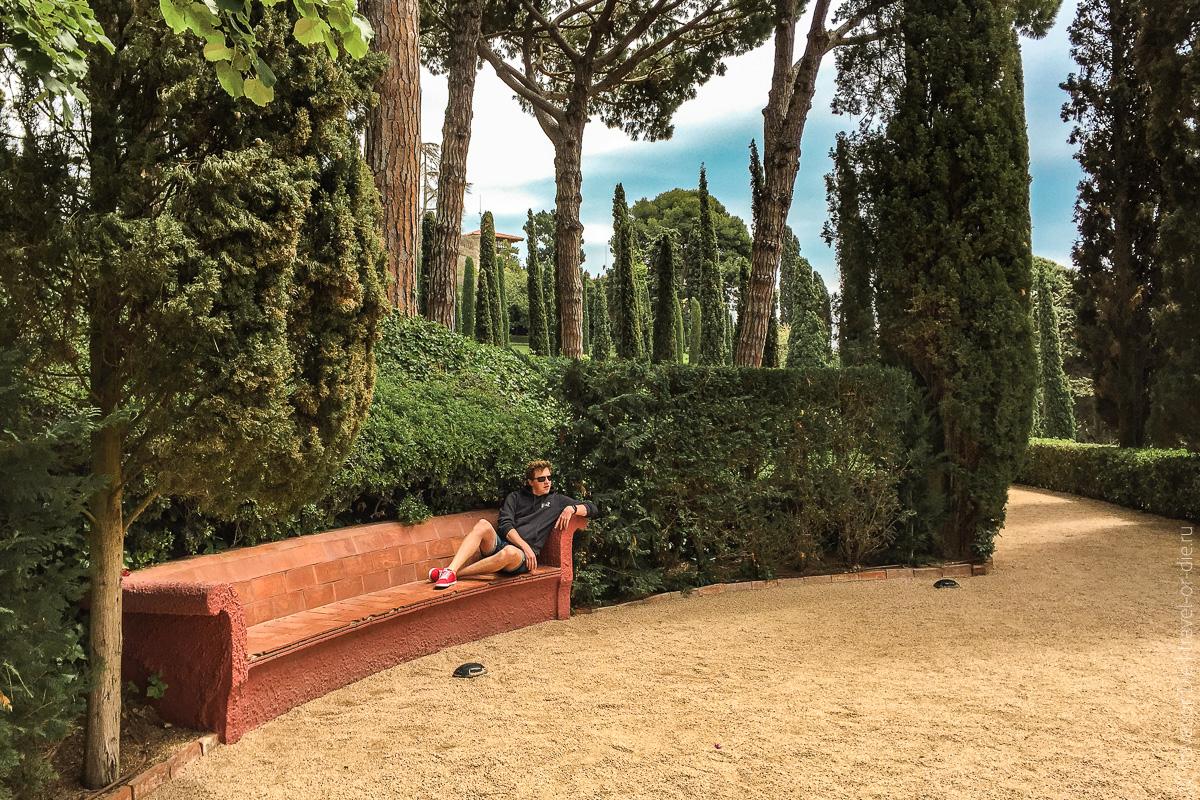 Сады Святой Клотильды в Ллорет де Мар 22