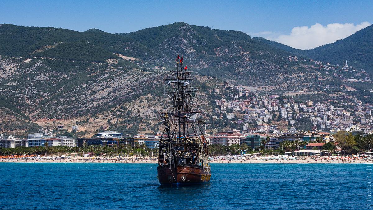 Экскурсия Пиратский корабль в Алании-5139