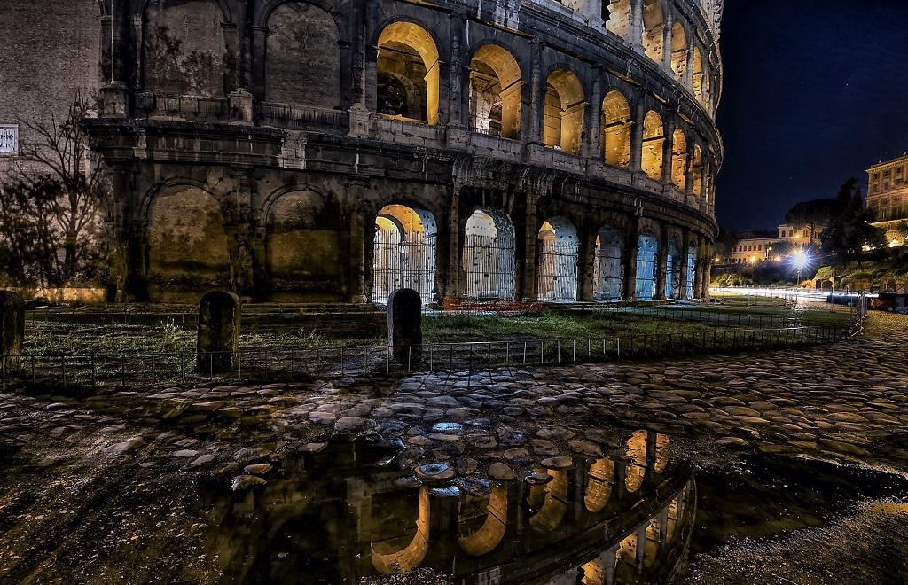 Ночная экскурсия в Колизей