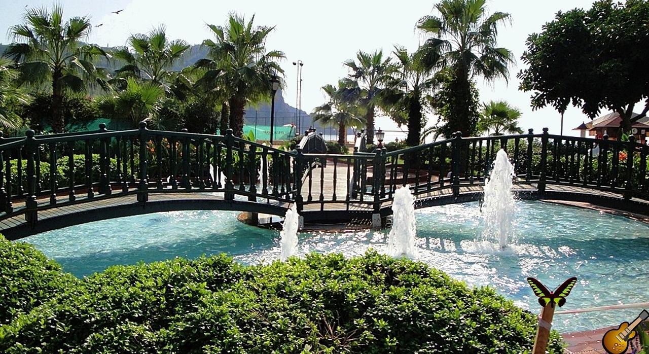 Достопримечательности Алании Alanya Gardens Park