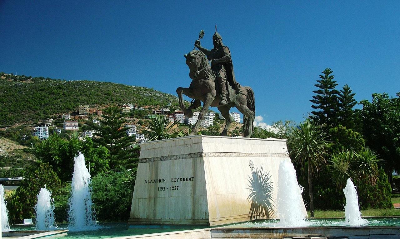 Достопримечательности Алании Памятник Ала ад-Дину Кей-Кубаду I