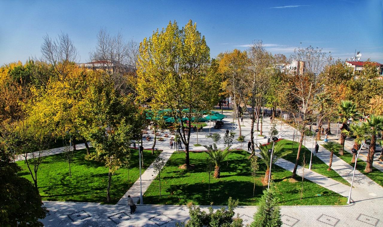 Достопримечательности Алании Парк Yil Ataturk Parki