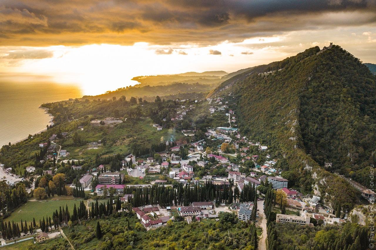 Достопримечательности Нового Афона Иверская гора