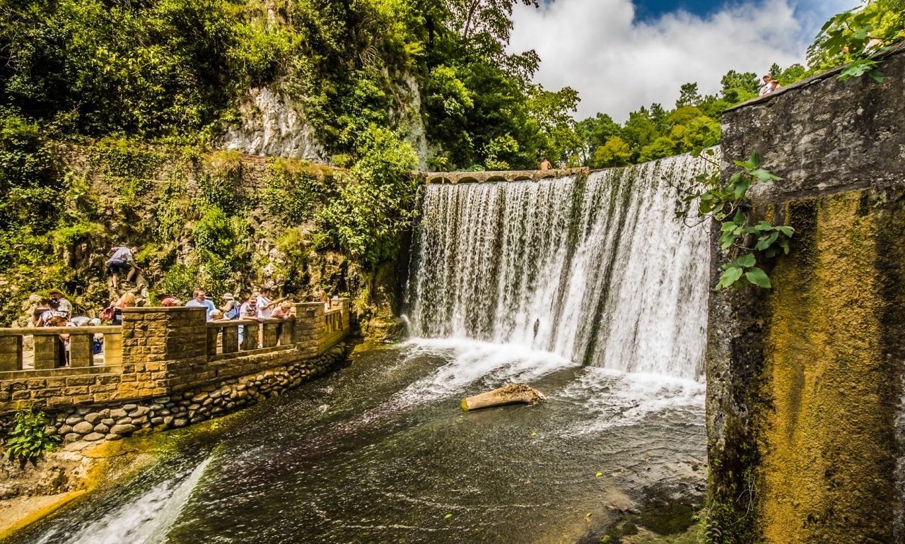 Достопримечательности Нового Афона Новоафонский водопад