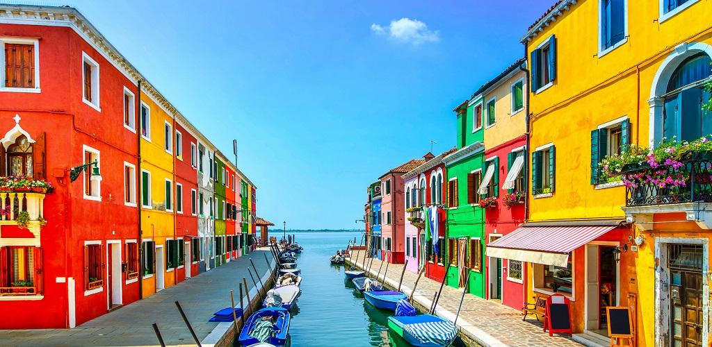 Экскурсии из Венеции на острова Мурано, Бурано и Торчелло