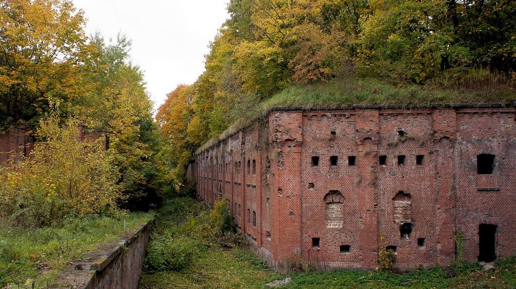 Форт №3 - Король Фридрих III экскурсия на куршскую косу 2