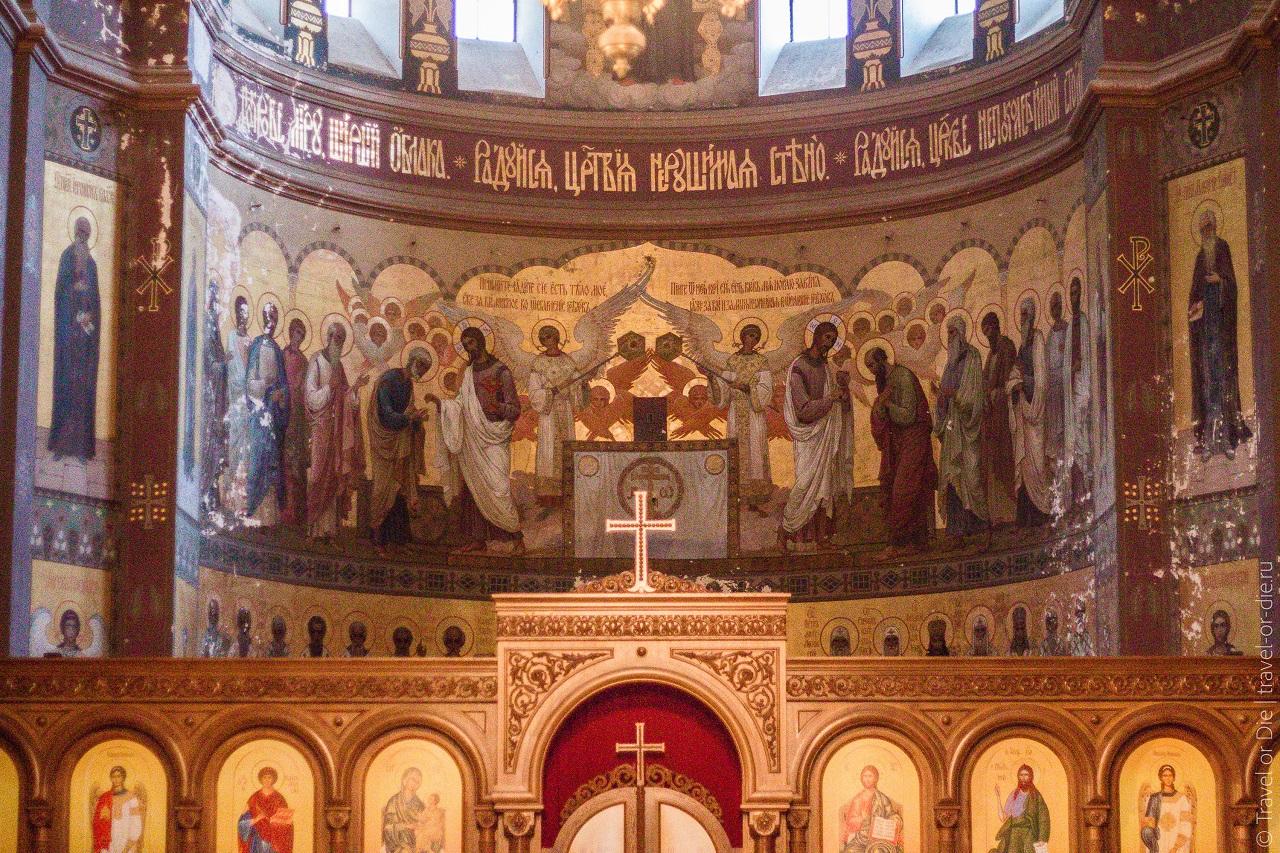Иконы и святыни Новоафонского монастыря