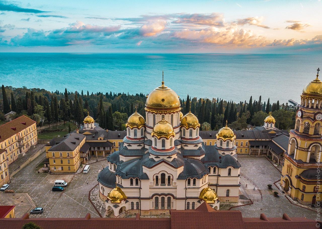 История Новоафонского монастыря
