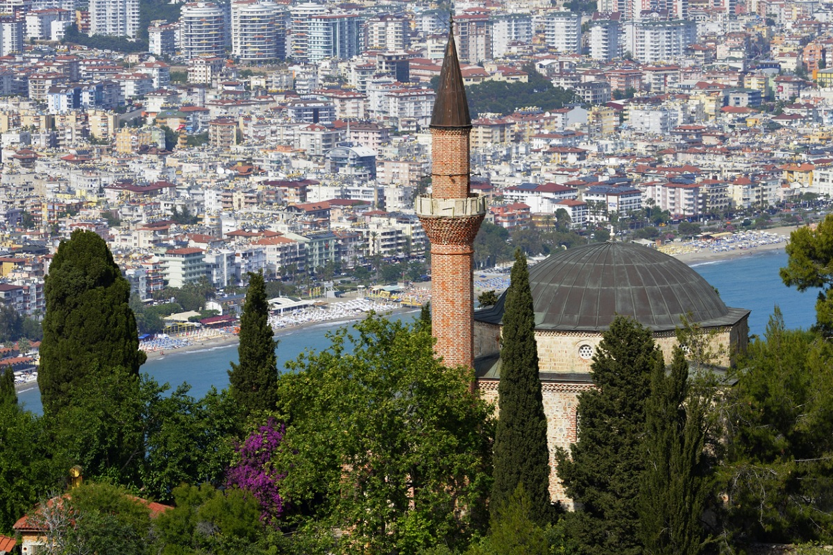 Мечеть Сулеймание в крепости Алании