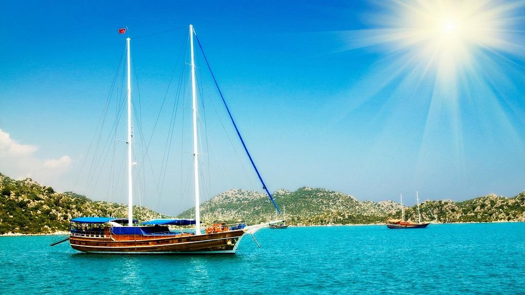 Морские экскурсии в Сиде