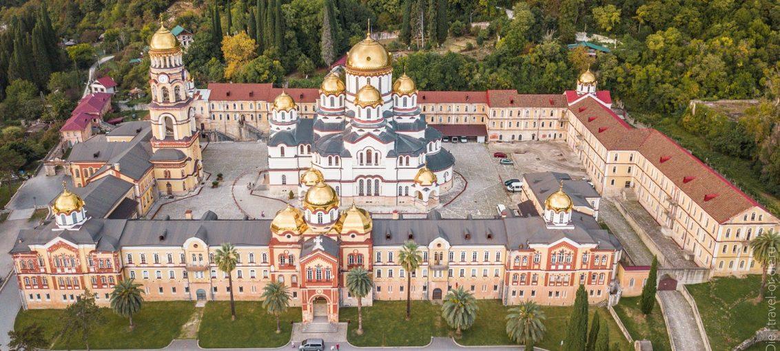 Новоафонский монастырь Абхазия история экскурсии раскол