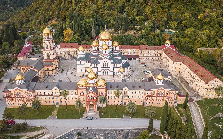 Новоафонский монастырь Абхазия история раскол
