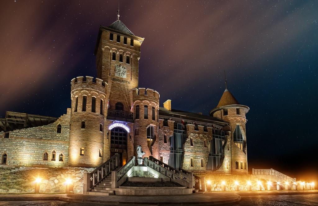 Замок Нессельбек экскурсия калининград куршская коса