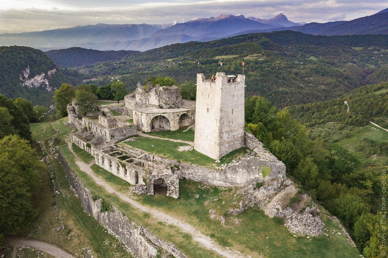 достопримечательности абхазии - Анакопийская крепость