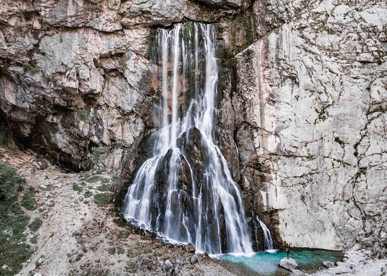 достопримечательности абхазии - Гегский водопад