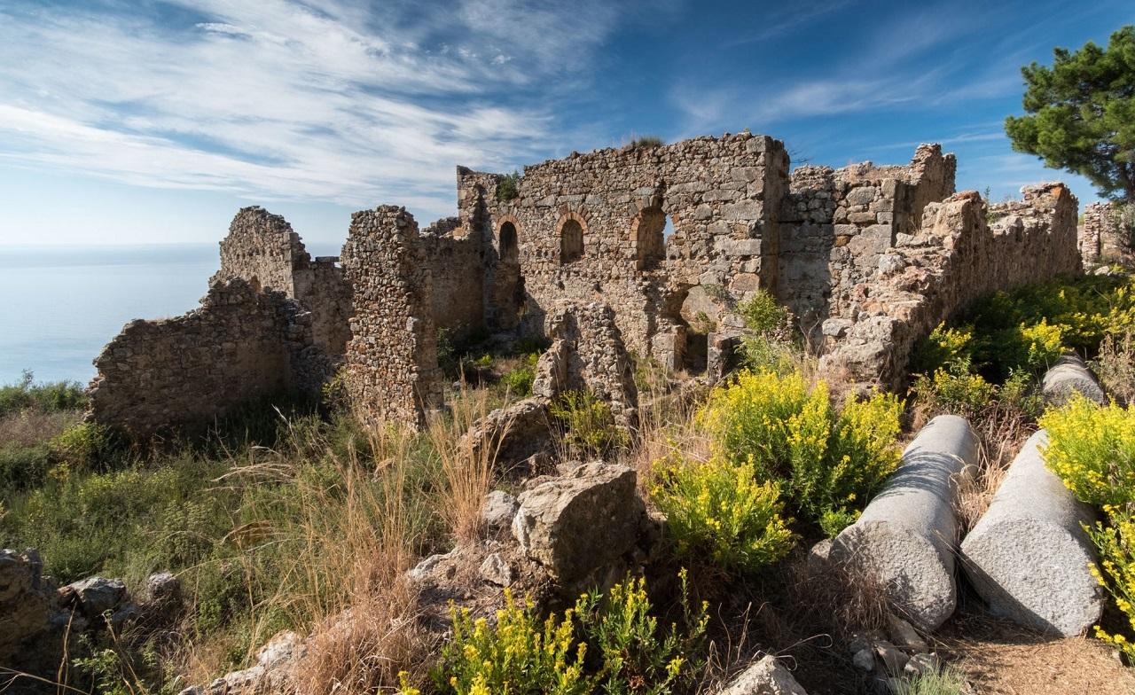 достопримечательности алании Античный город Сиедра