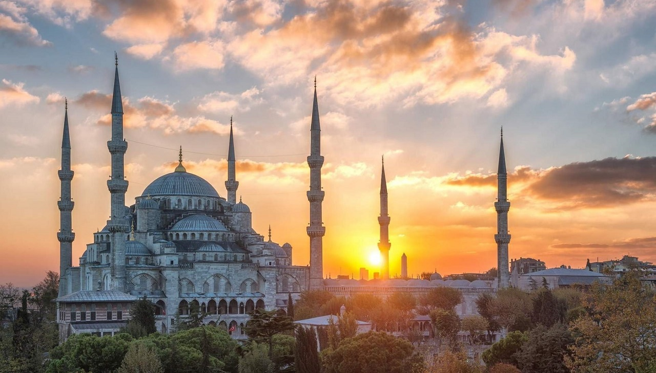 экскурсия из алании в стамбул - Голубая мечеть