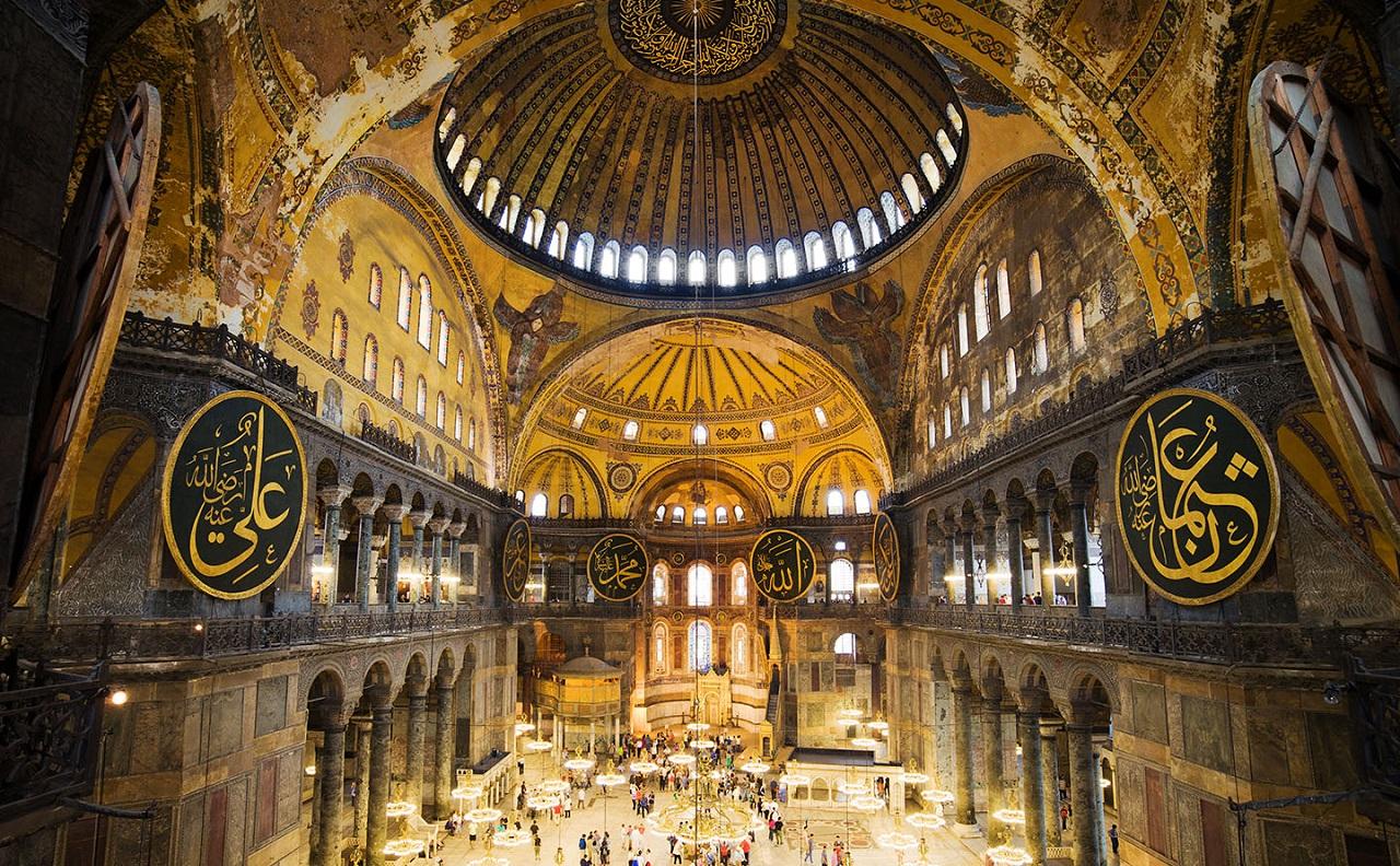 экскурсия в стамбул из алании - Айя-София