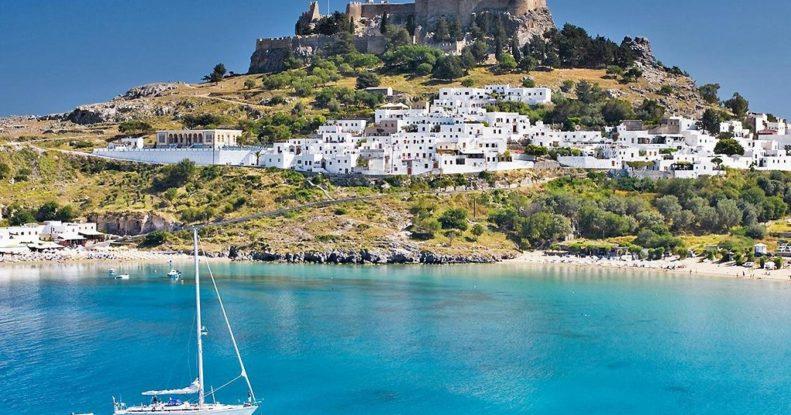 Достопримечательности Родоса Греция фото, описание, карта