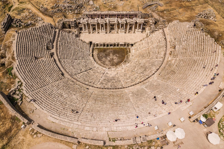 Древний город Иераполис Турция