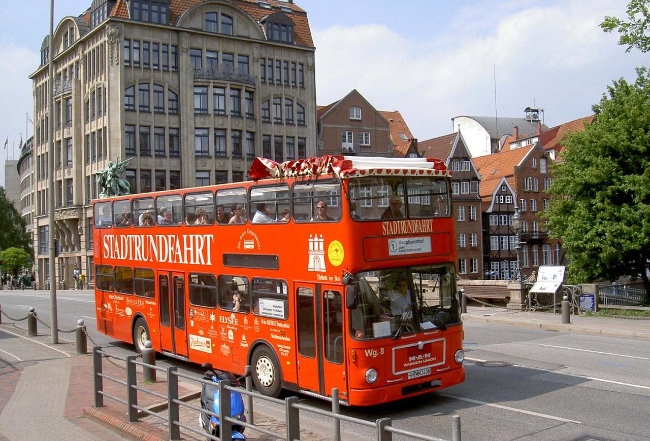 Экскурсии по Гамбургу на автобусе с русским аудиогидом