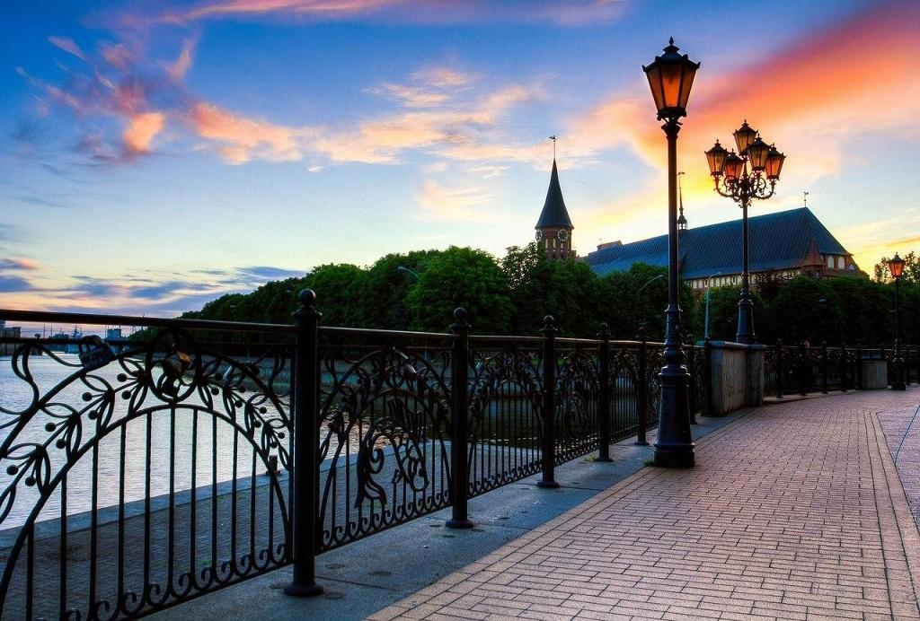 Вечерние экскурсии в Калининграде
