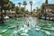 бассейн клеопатры в памуккале турция