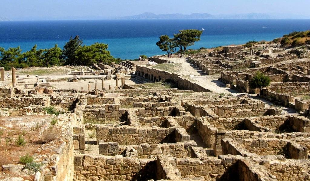 достопримечательности родоса - Древний Камирос