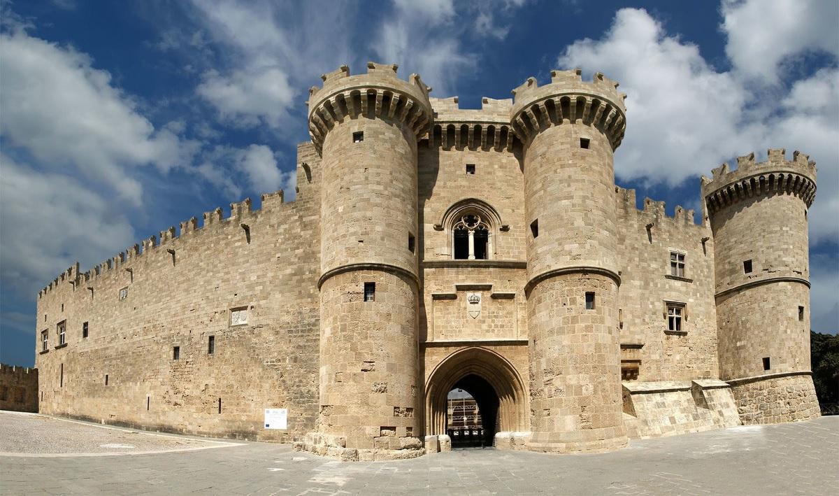 достопримечательности родоса - Родосская крепость